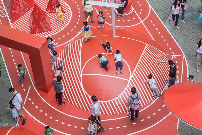 Um espaço onde as crianças podem brincar...