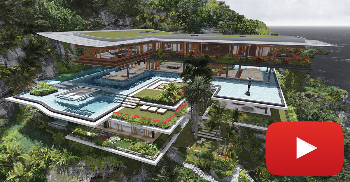 """Uma ilha que dará lugar a uma """"villa"""" de luxo"""