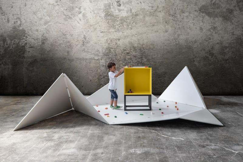Foi pensada por uma equipa de designers italianos