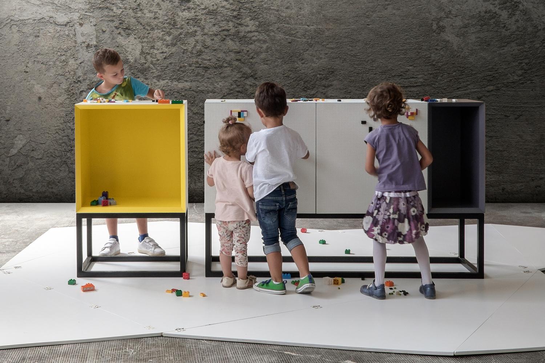 A linha de mobiliário que fará as delícias de miúdos...