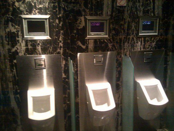 Casa de banho metalizada
