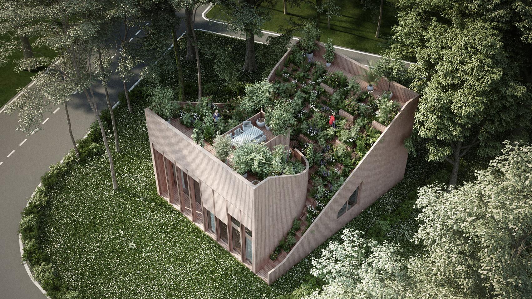 A Yin & Yang House