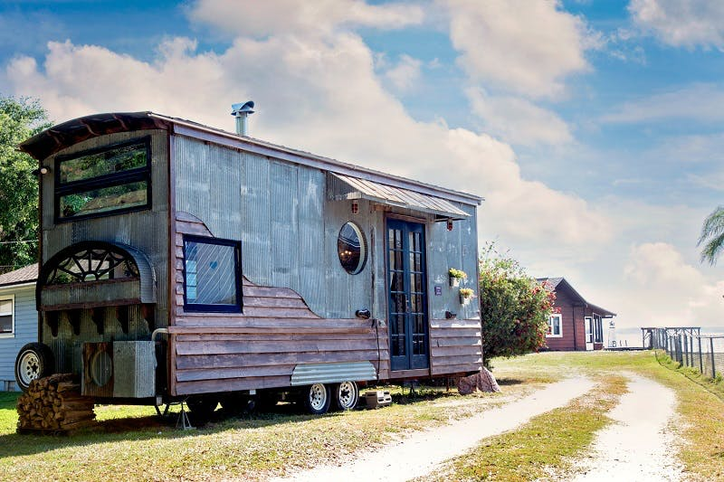 Esta peculiar casa está localizada na Flórida (EUA)