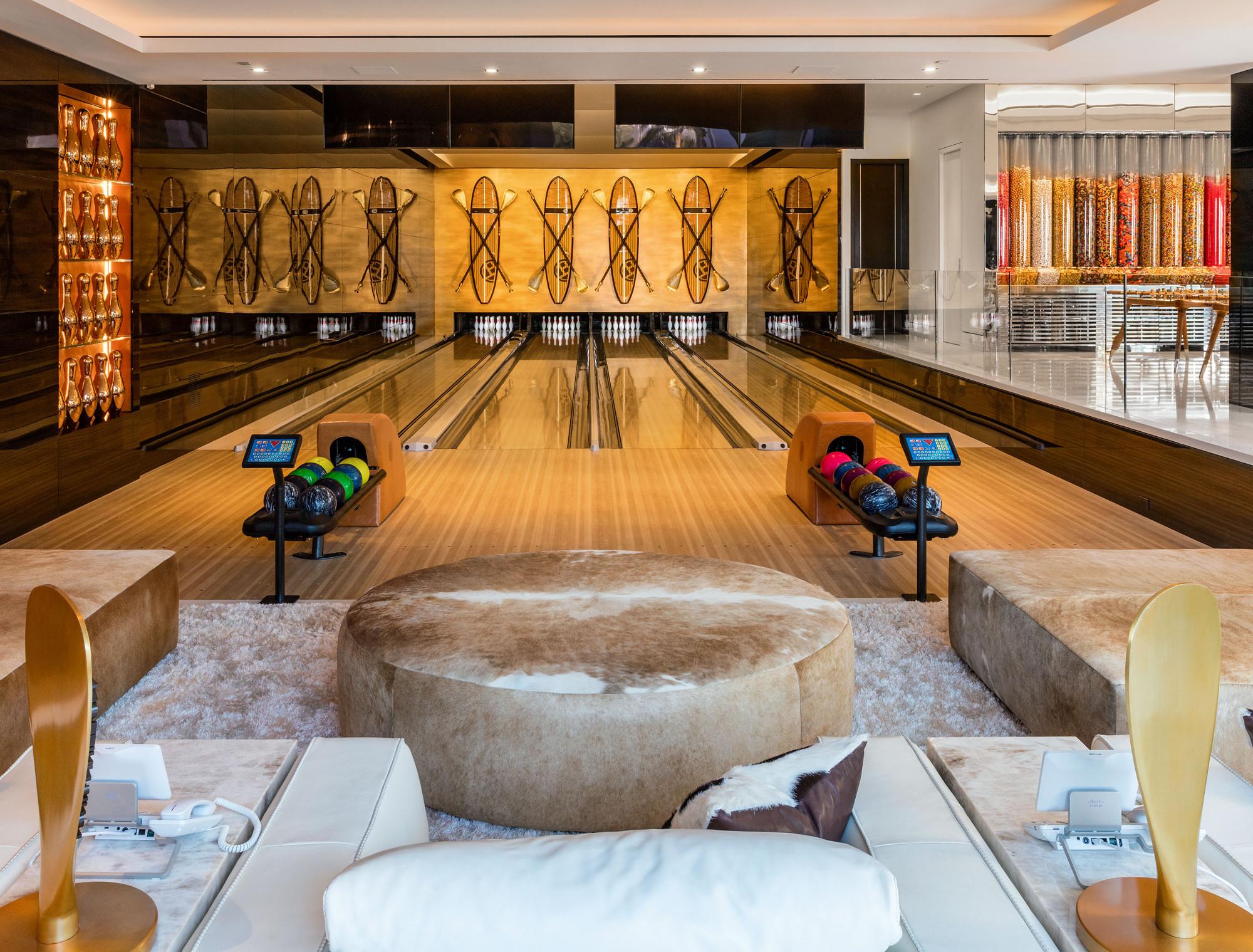 Salão de bowling
