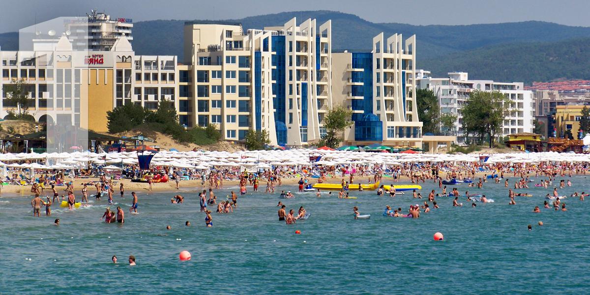 Sunny Beach, Bulgária: 43,4 libras/49,6 euros
