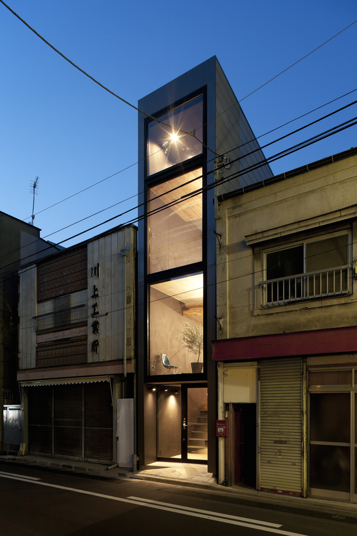 Uma casa que tira partido do pouco espaço