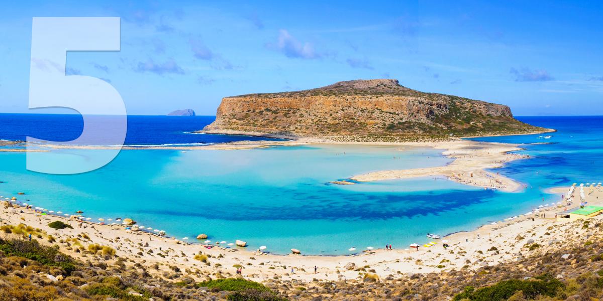 Creta, Grécia: 81,3 libras/93 euros