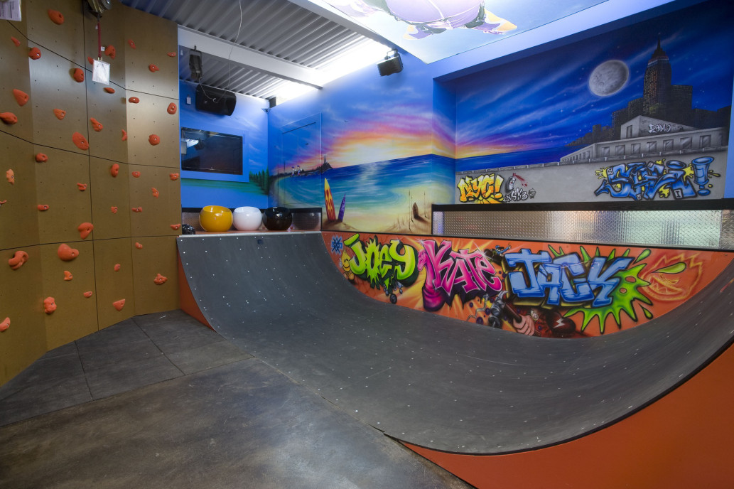 Sala de skate