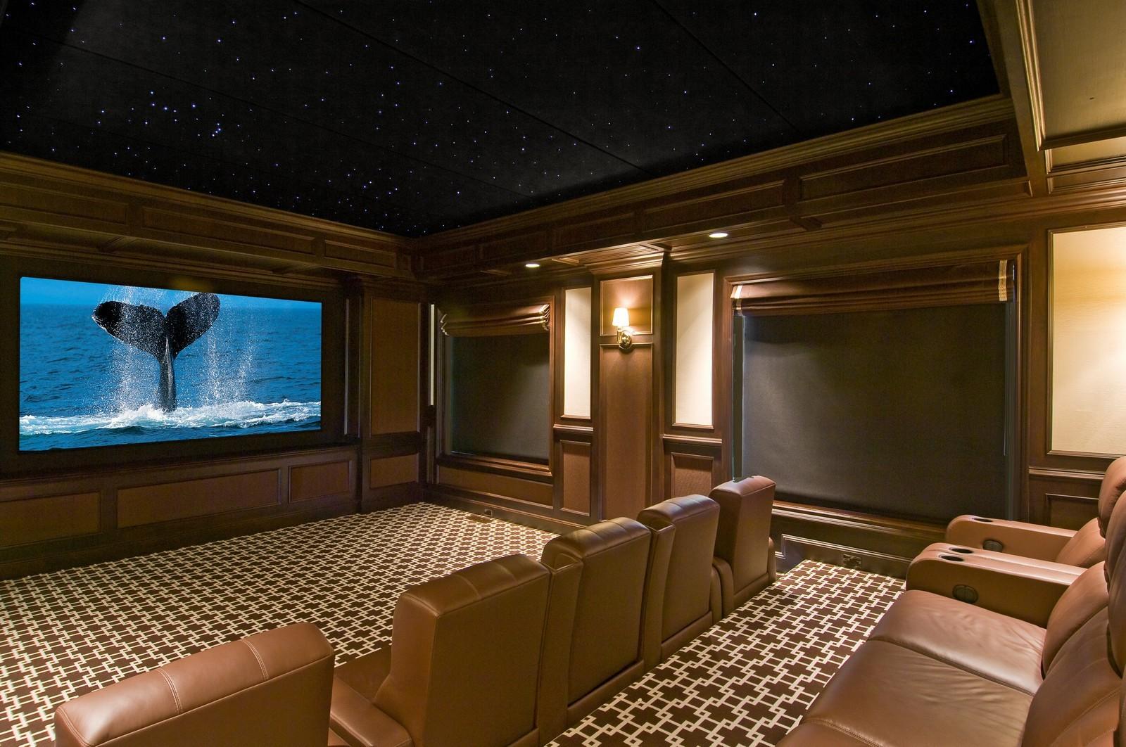 Aqui a sala de cinema...