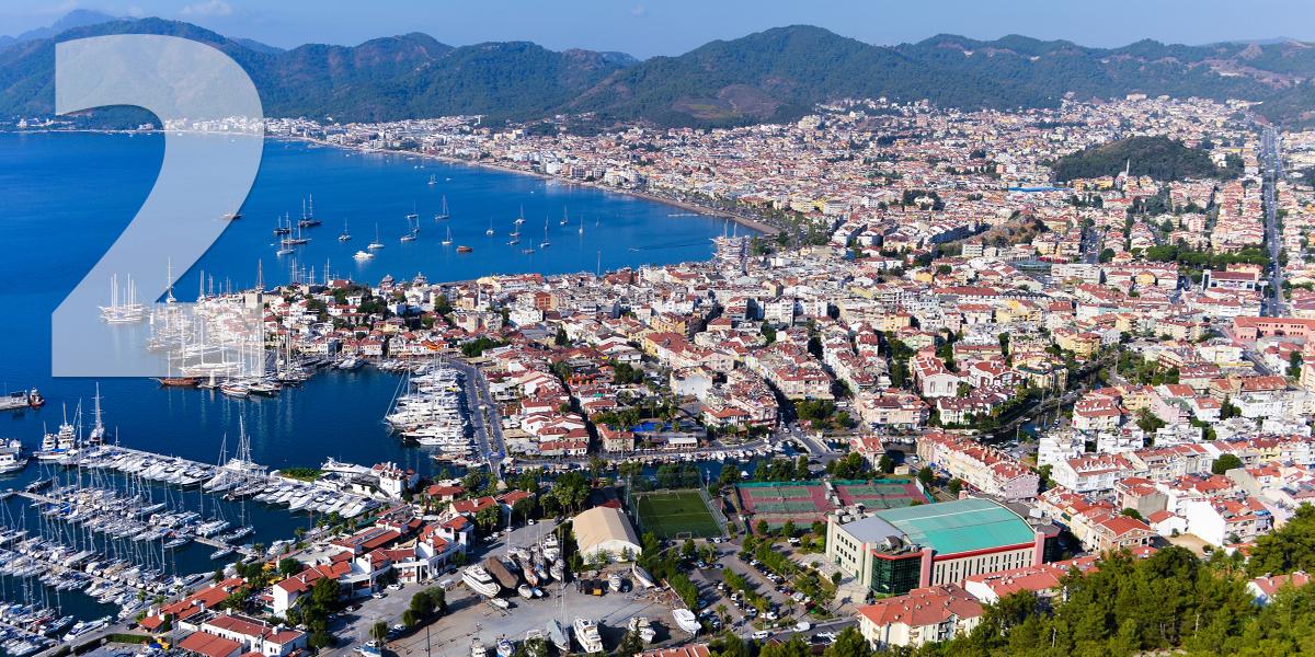 Marmaris, Turquia: 56,8 libras/65 euros