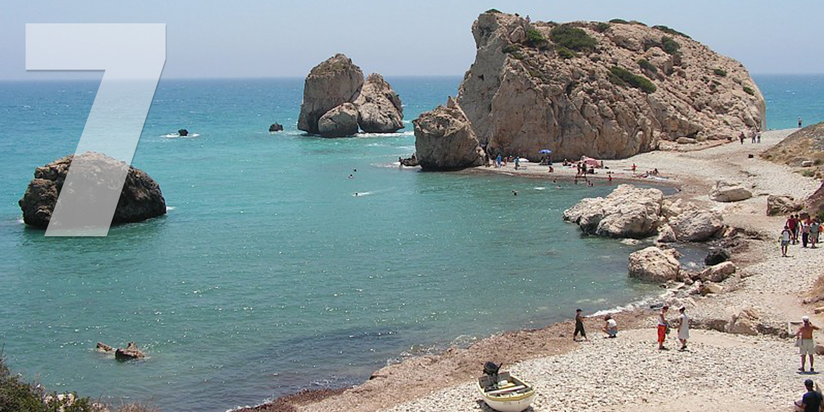 Pafos, Chipre: 88,4 libras/101 euros