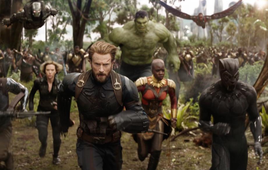 É a primeira vez que tantos super-heróis se reúnem no mesmo filme