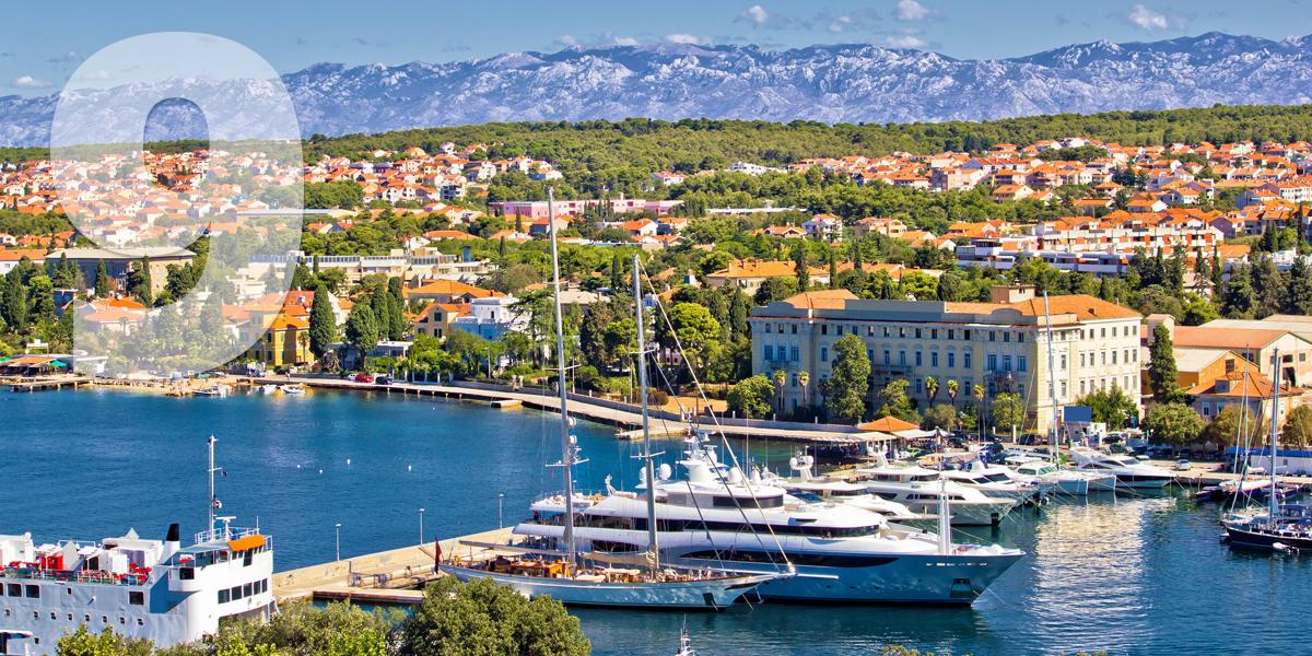Zadar, Croácia: 98,1 libras/112,1 euros