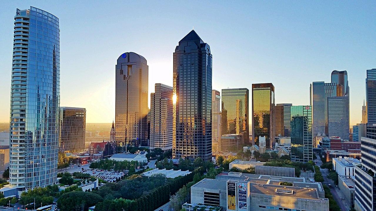 Vista panorâmica de Dallas / Creative commons