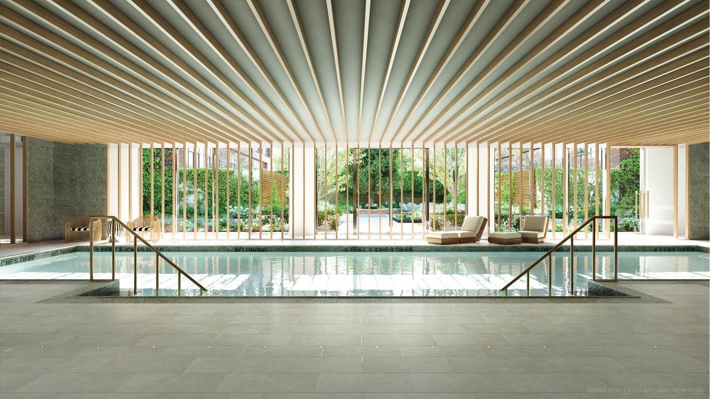 A piscina comum...