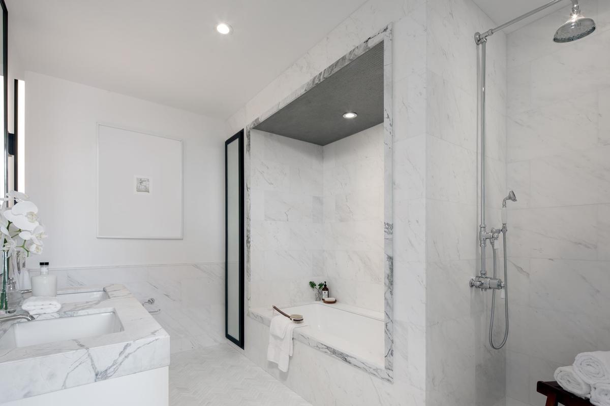 ... e uma casa de banho digna de um spa