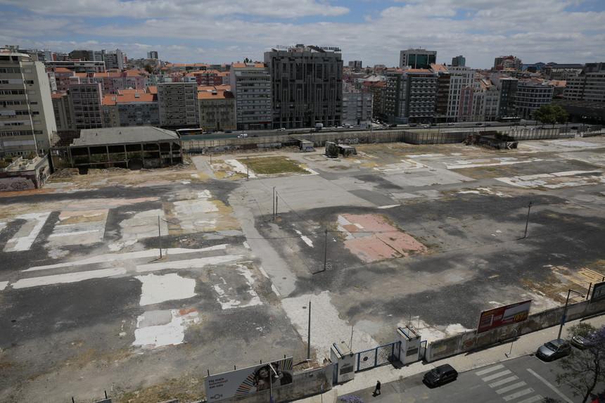 Os terrenos da antiga Feira Popular