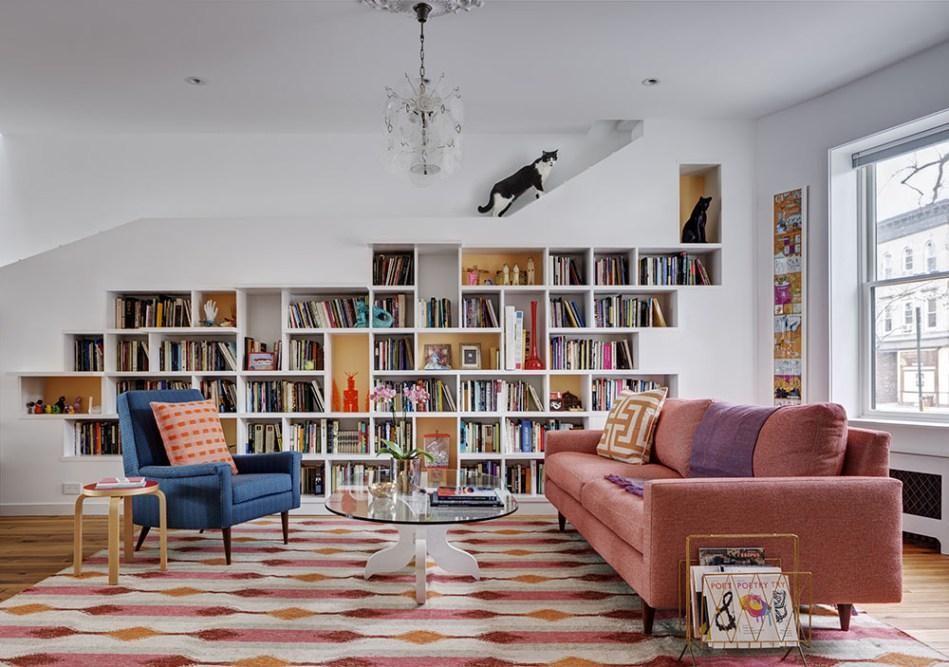A biblioteca do gato