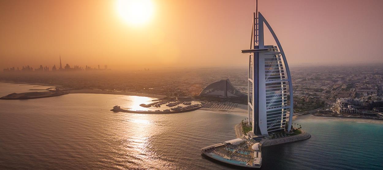Este hotel no Dubai tem sete estrelas