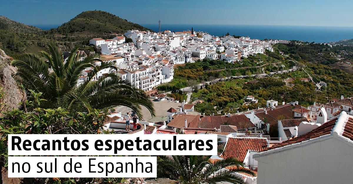 Recantos espetaculares no sul de Espanha