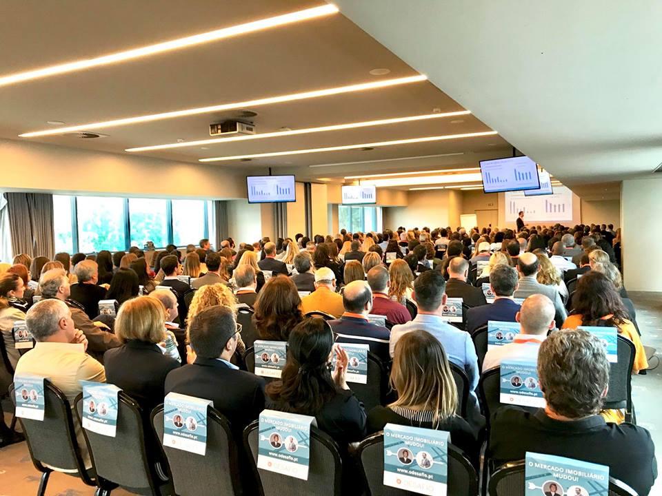 """A conferência """"O Desafio"""" aconteceu esta terça-feira (22 de maio) / @massimoforte/facebook"""