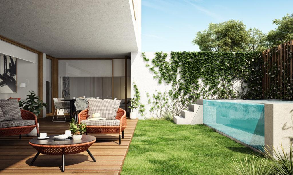 O projeto contempla a construção de 13 apartamentos e duas penthouses