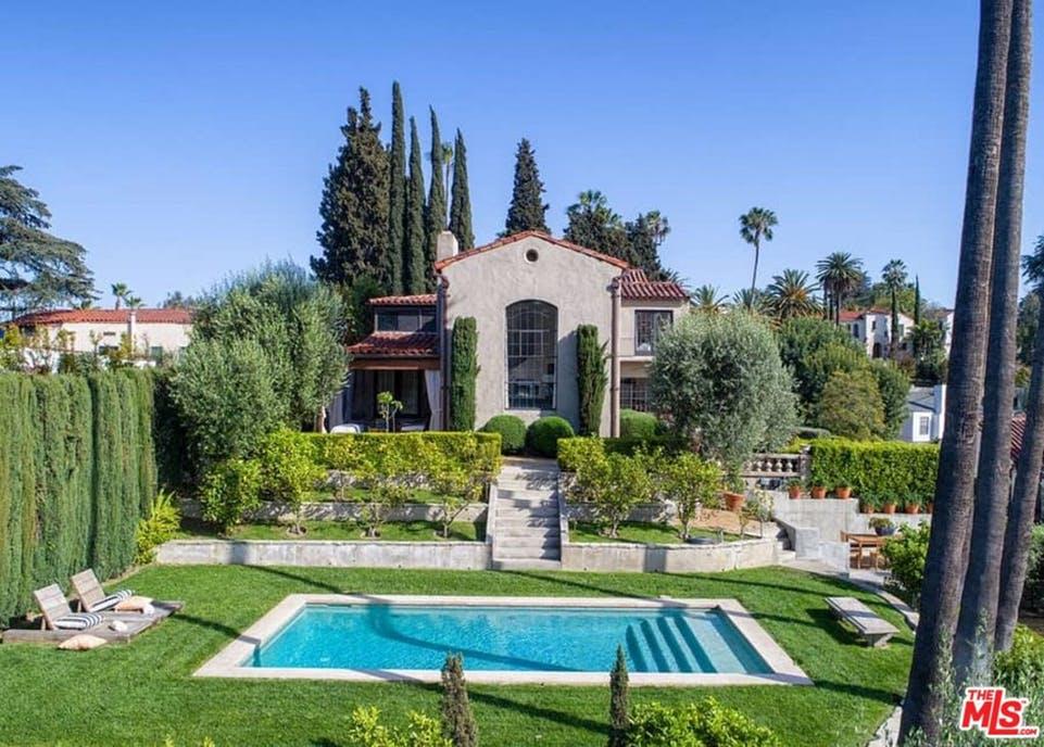 Jardim da propriedade