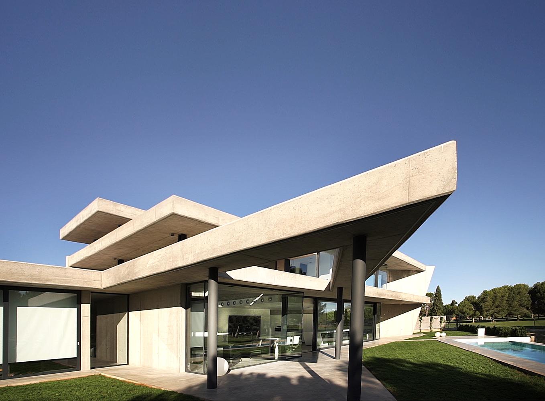 A casa fica em Valência (Espanha)