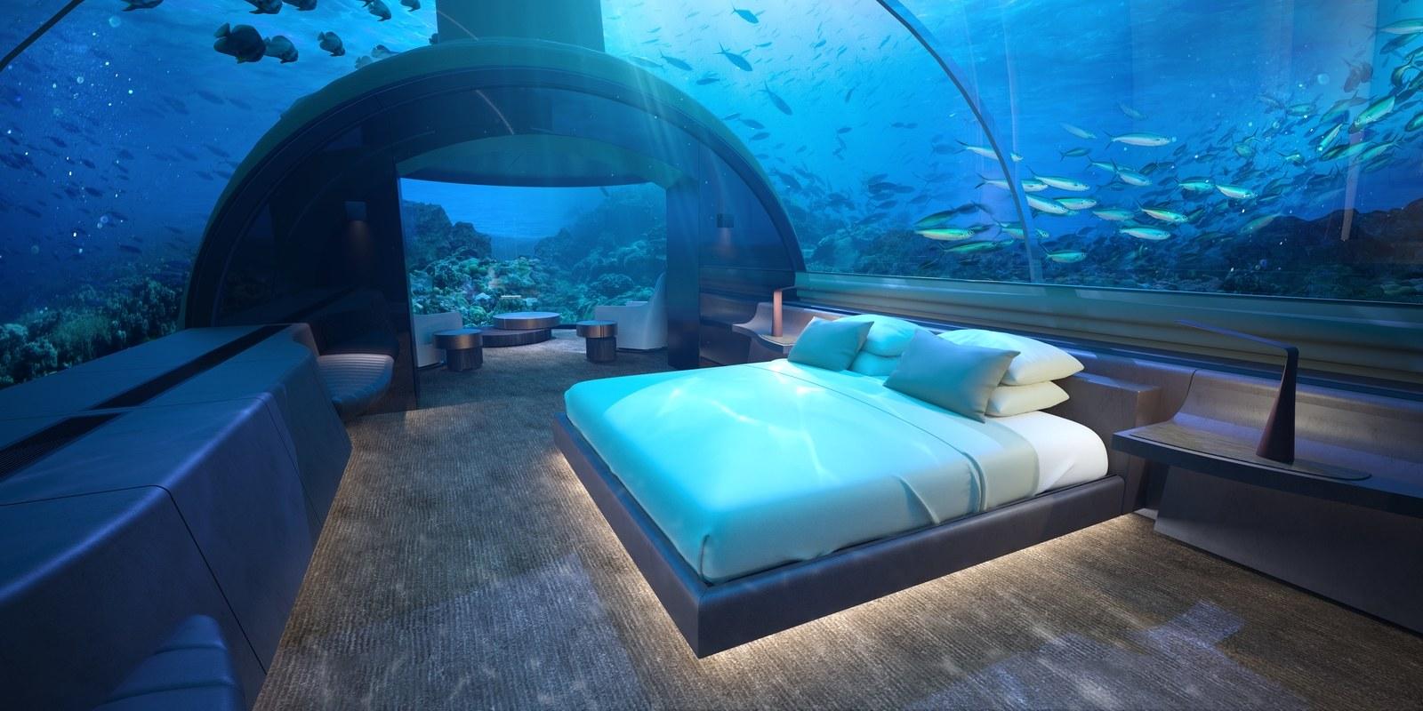 Quarto subaquático