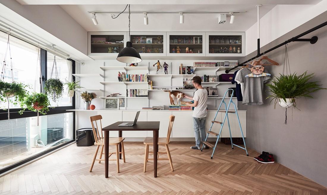 Um apartamento amplo