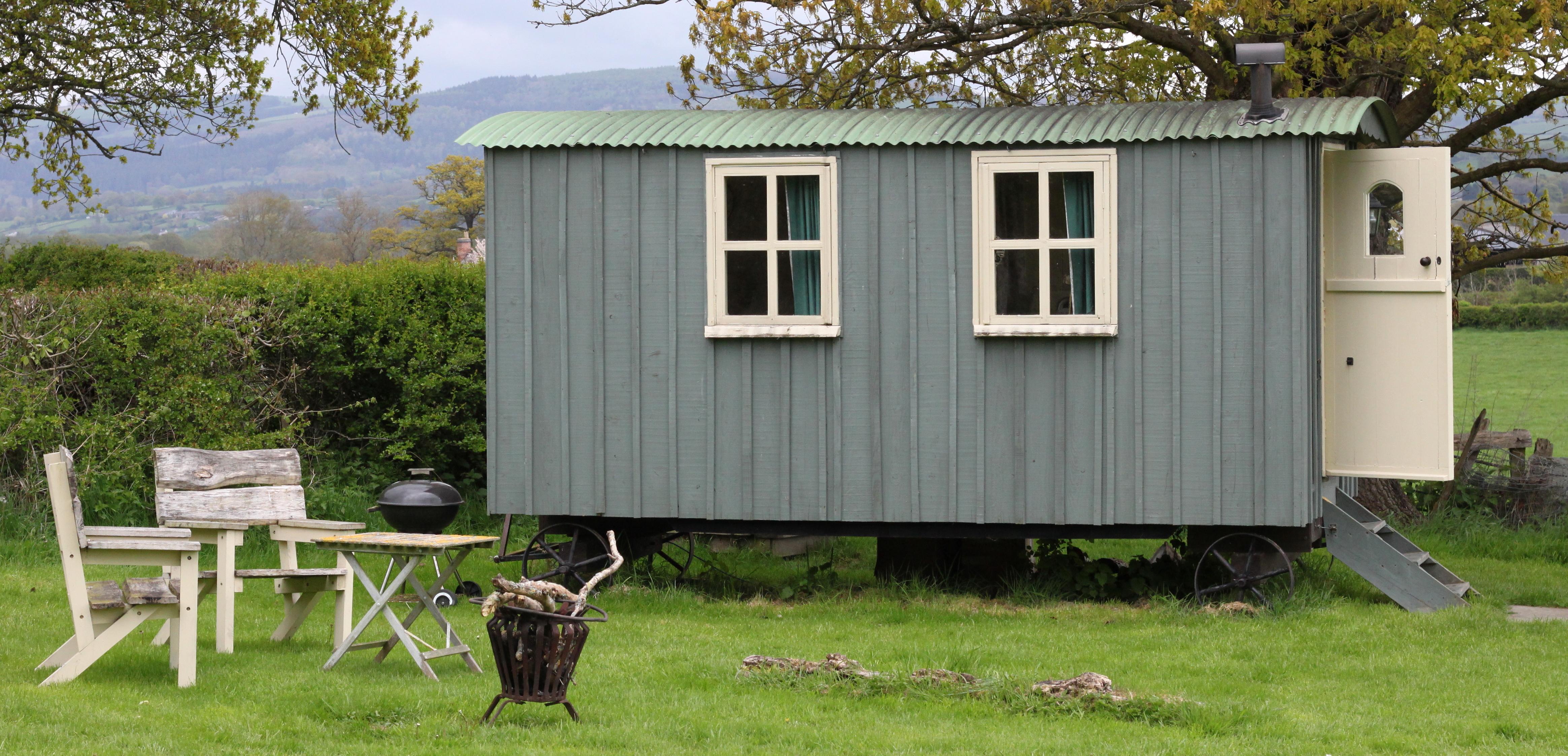 As antigas casas de pastores são agora minicasas de luxo