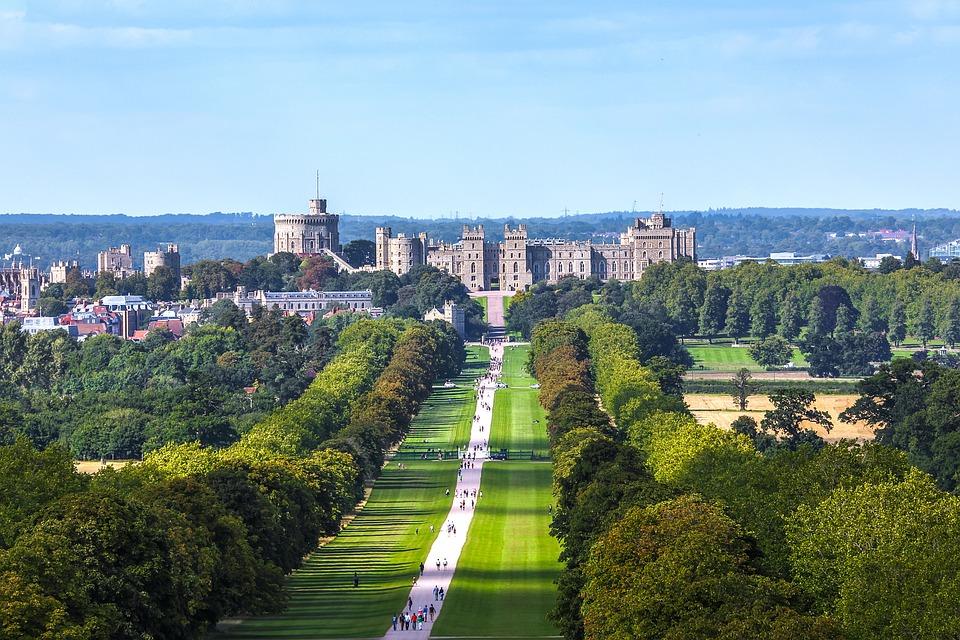 Vista geral do Castelo de Windsor