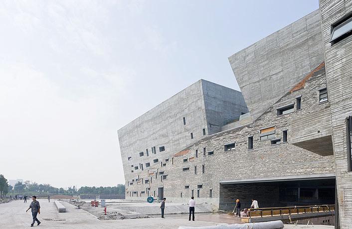 Museu de História de Ningbo / Wang Shu, Amateur Architecture Studio (China)