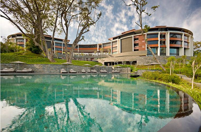(Mais uma) vista panorâmica do hotel