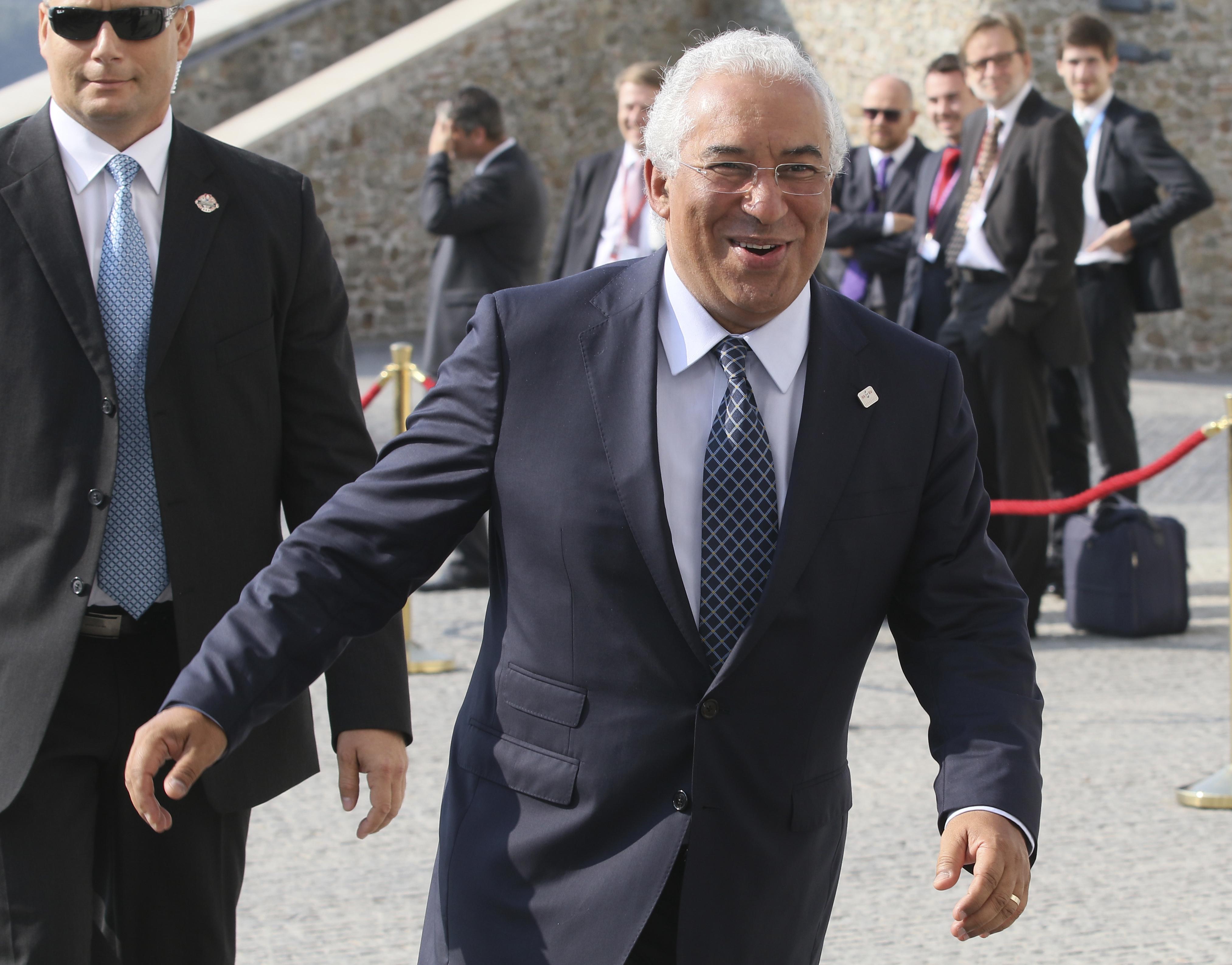 Anúncio feito pelo primeiro-ministro, António Costa / Gtres