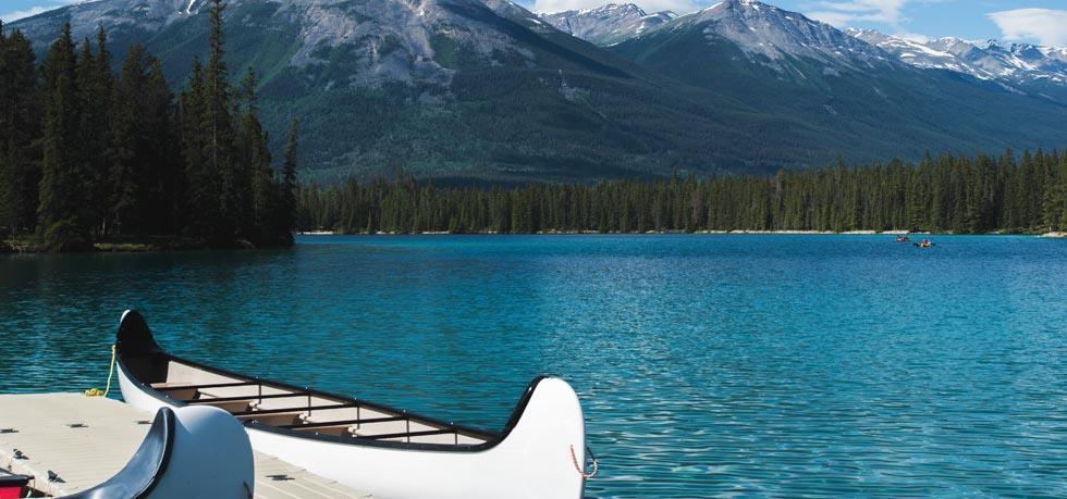 Vai um passeio de canoa?