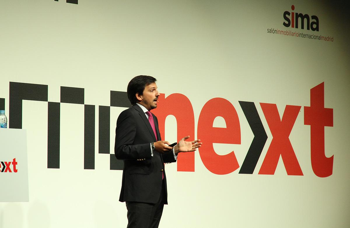 Hugo Santos Ferreira, da APPII, no Inmonext de Madrid, organizado pelo idealista