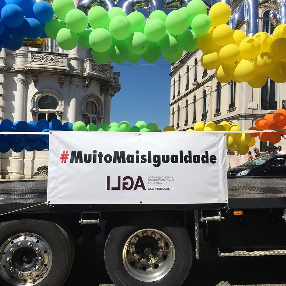 A 19.ª Marcha do Orgulho LGBTI invadiu as ruas da capital no dia 16 de junho / ILGA Portugal