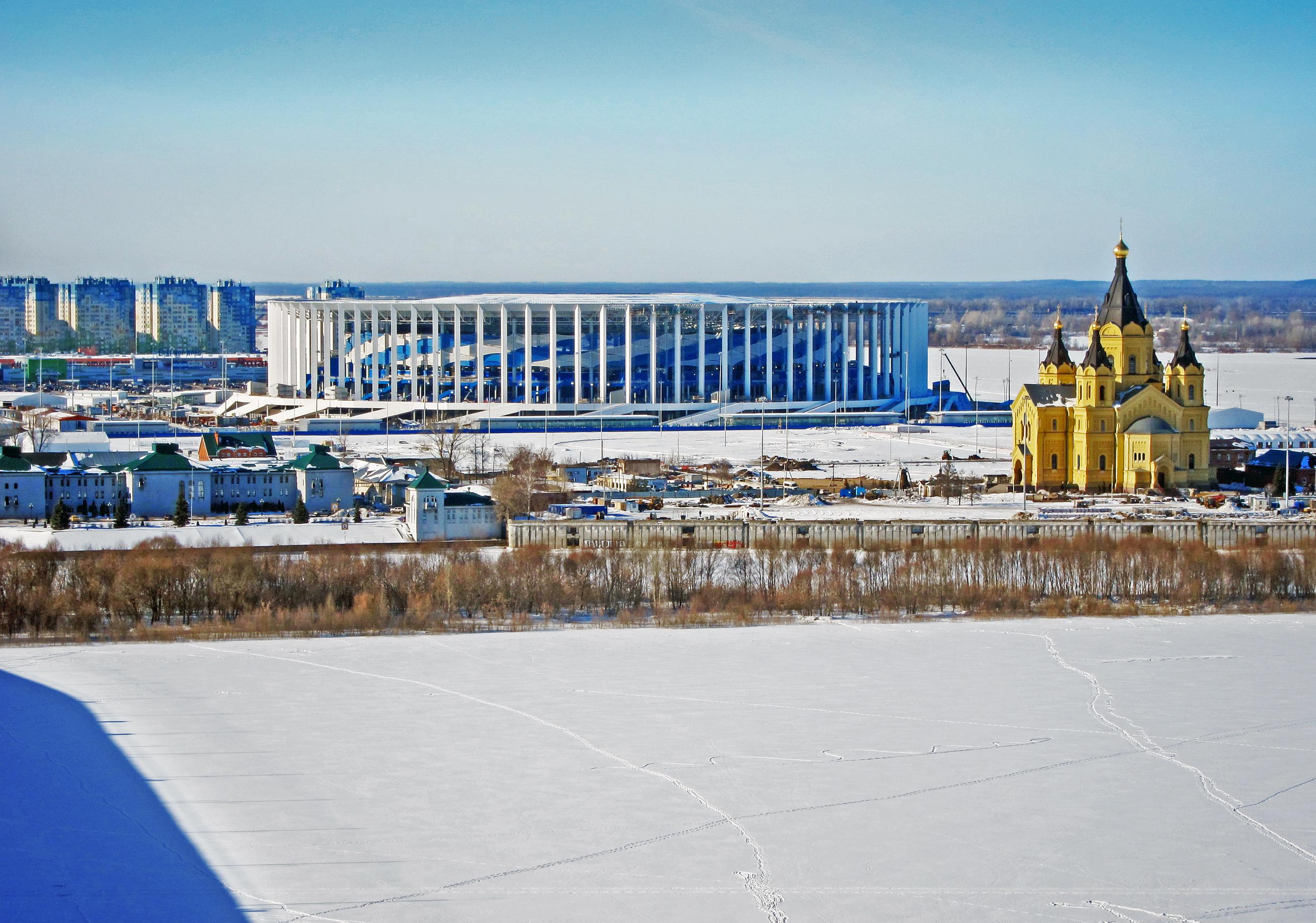 Estádio de Nijni Novgorod