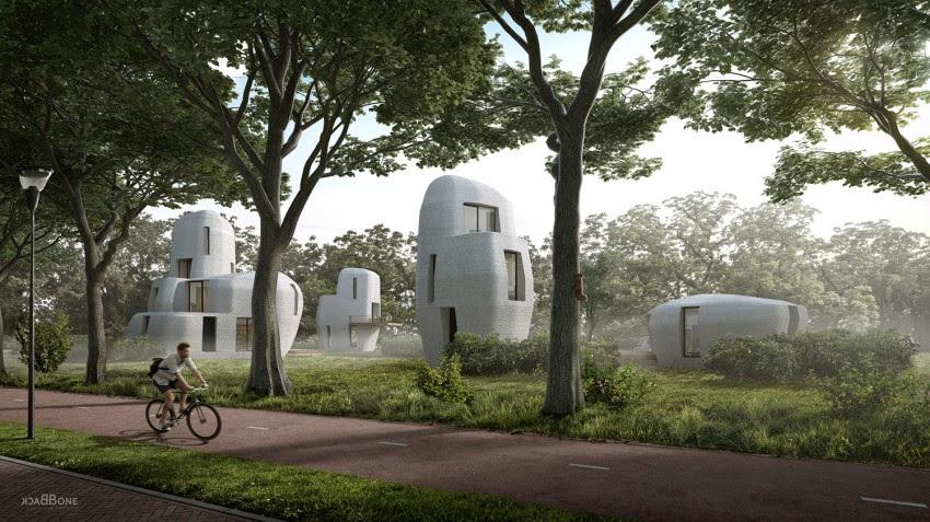 Assim serão as casas impressas em 3D