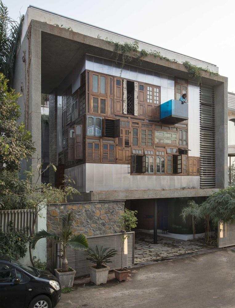 Collage House / S+PS Architects (Índia)