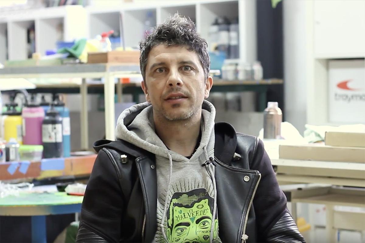 """Ismael Iglesias, artista espanhol galardoado com o primeiro """"Prémio Idealista"""""""