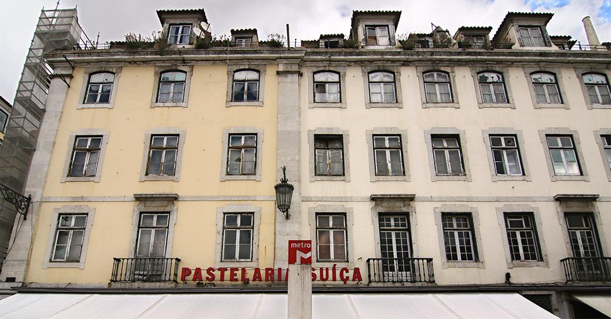 Estabelecimento, localizado na Praça D.Pedro IV da Baixa lisboeta, está aberto desde 1922