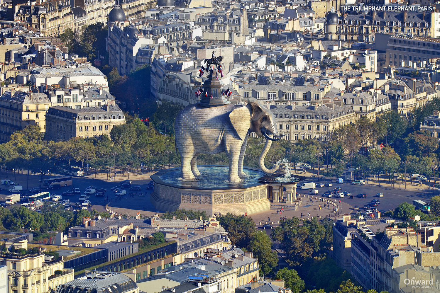 The Triumphant Elephant - Paris, França