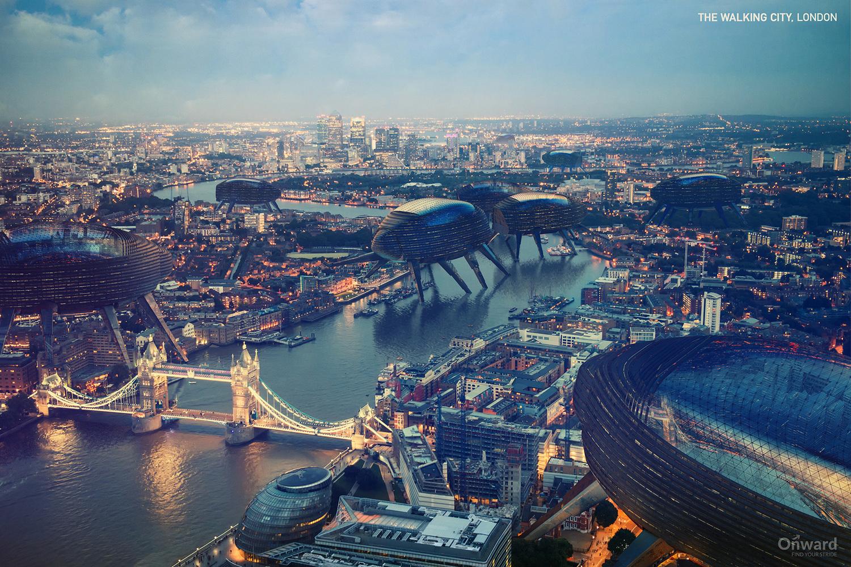The Walking City, Londres, Inglaterra
