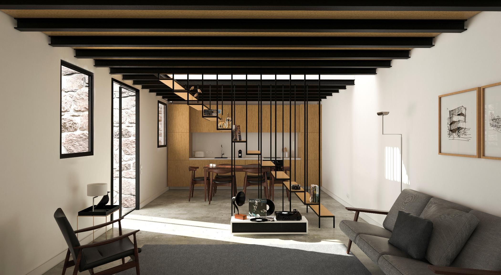 O projeto prevê a construção de oito apartamentos
