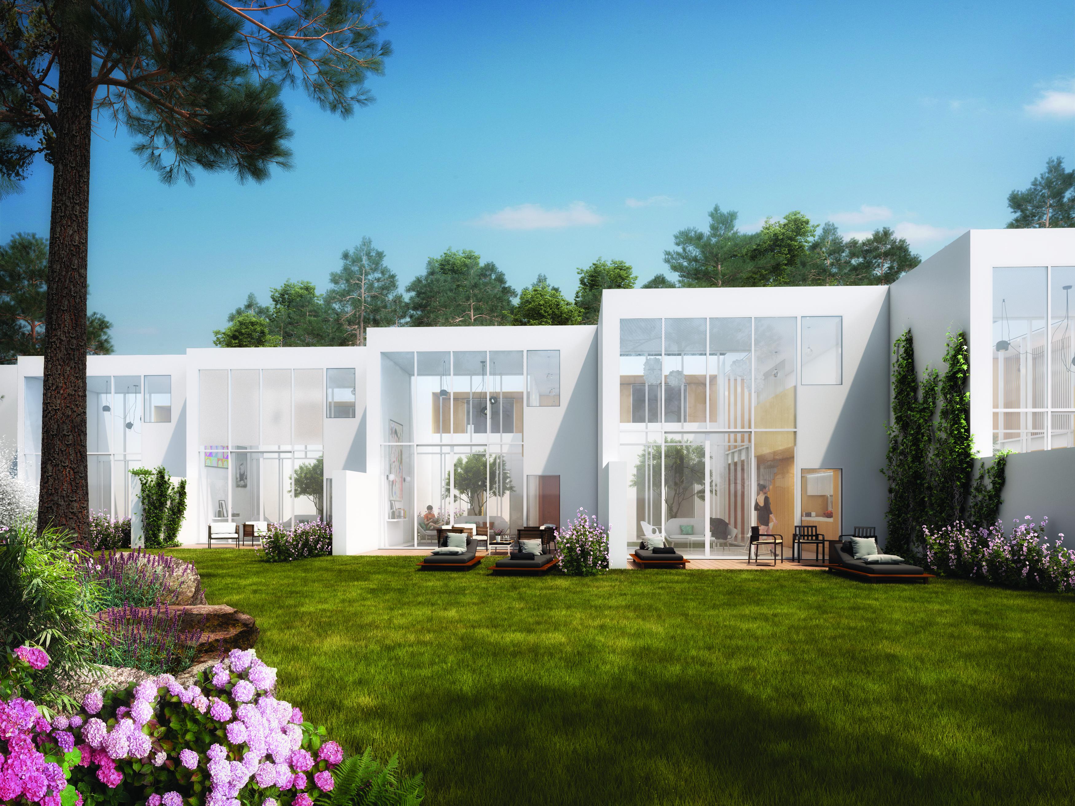 Maquete do empreendimento Central, que terá 80 villas / Vilamoura World