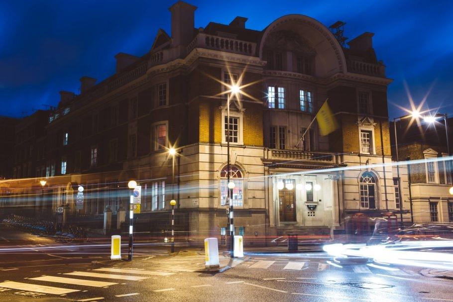 Um antigo tribunal de Londres