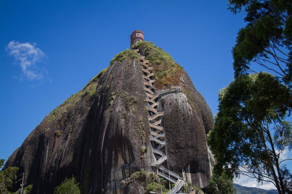 El Peñón de Guatapé, Colômbia