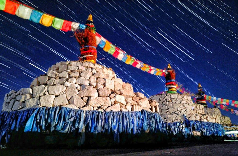 Estrelas sobre um Ovo mongol